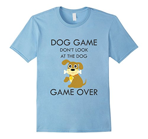 Child Hot Dog Hoodie (Mens Dog Game Over Hot Top Lit Animal Shirt Tee Men Women Kids Medium Baby Blue)