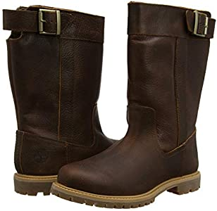 Timberland Women's Nellie Pull On Waterproof Calf Boots, Brown Leather