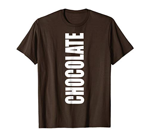 Become a Chocolate Bar Costume Shirt