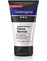 Neutrogena Men Razor Defense Daily Exfoliating & Conditioning Face Scrub, 4.2 Fl. Oz