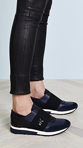 c674b6ca359b MICHAEL KORS Women s Shoes MK Trainer Blue Sneaker Spring Summer 2018   Amazon.co.uk  Shoes   Bags