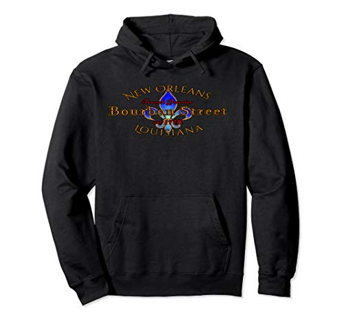 New Orleans Louisiana Bourbon Street French Quarter Hoodie
