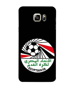 ColorKing Football Egypt 13 Black shell case cover for Samsung Note 5