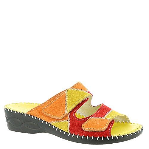 David Tate Tosca Women's Sandal 8 2A(N) US Citrus-Multi