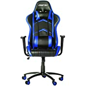 Merax Racing Style PU Leather Office Chair 180 Degree Back Adjustment Swivel Computer Gaming Chair Executive Chair...
