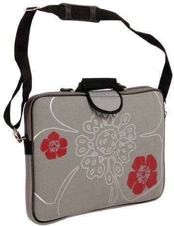 laurex-17-inch-laptop-notebook-sleeve-case-bag-with-handle-shoulder-strap-gun-metal