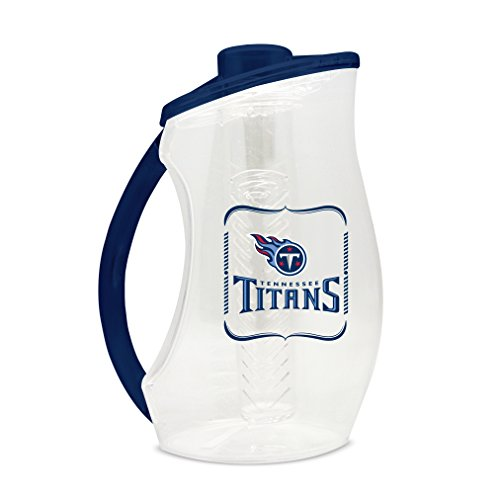 - NFL Tennessee Titans 93oz Acrylic Infuser Pitcher with Colored Handle and Lid