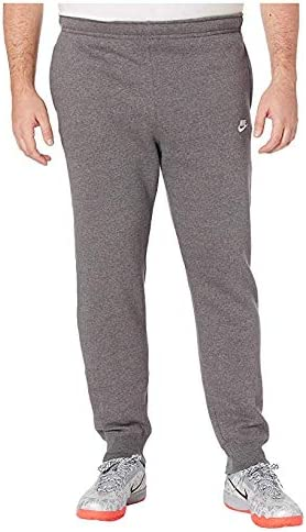 [NIKE(ナイキ)] メンズパンツ・ショーツ等 Big & Tall NSW Club Jogger Charcoal Heather/Anthracite/White 4XL [並行輸入品]