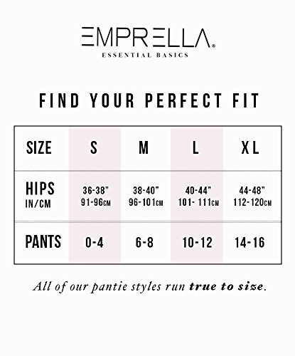 Emprella Women's Boyshort Panties (10-Pack) Comfort Ultra-Soft Cotton Underwear by Emprella (Image #3)