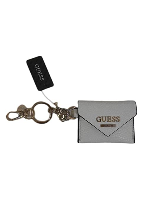 Monedero llavero rectangular Guess blanco A38/26: Amazon.es ...