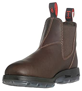 Amazon.com: Redback Boots - USNPU - 6H Unisex Work Boots, Steel Toe Type, Full Grain Leather ...