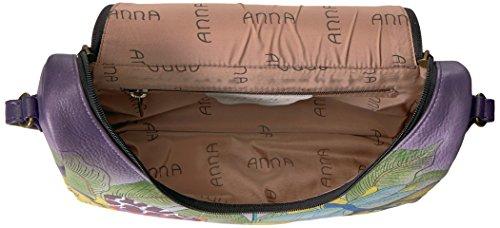 Cross Anuschka Anna Tpd Painted Leather Body Hand Paradise Handbag Crossbody Women's Medium tuscan 00qAO