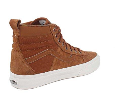 Vans Sk8-Hi 46 MTE DX, Scarpe Running Uomo Glazed Ginger/flannel