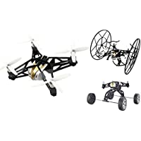 Alta 3 in 1 Quadcopter Snap RC Drone - Can Fly, Climb Walls and Float in Water