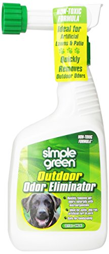 Simple Green Outdoor Odor Eliminator Hose End Sprayer for Pets, 32-Ounce (Grass And Patio Brick)