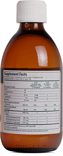 Genestra Brands - Cod Liver Oil Forte - Vitamin + Essential Fatty Acid Supplement - 16.9 fl oz (500 ml) by Genestra Brands (Image #1)'