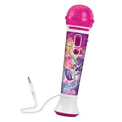 Barbie The Princess & The Popstar Singing Star Microphone