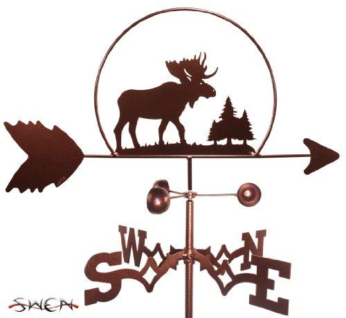 MOOSE WILDLIFE Weathervane - Moose Wildlife Weathervane