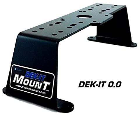Dek-it 0.0 Fish Finder Mount, Tournament Grade Electronics Mount, Boat Fishfinder Mounting Kit, Works with Most Marine Depth Finders & Locators, Proudly Made in the USA by PROcise - Marine Electronics