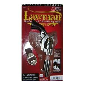 Western Legends Lawman Die Cast Metal Cap ()