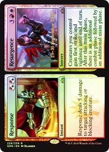 (Magic: The Gathering - Response // Resurgence - Foil - Prerelease)