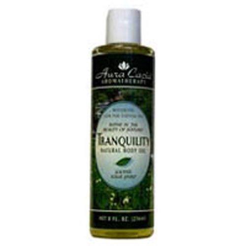 Massage Oil Aura Cacia Aromatherapy - Aura Cacia Aromatherapy Body Oil Tranquility - 4 fl oz