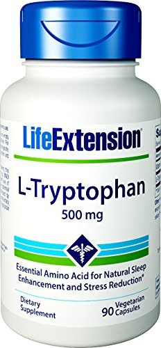 Cheap Life Extension L-Tryptophan 500 Mg, 90 Vegetarian Capsules