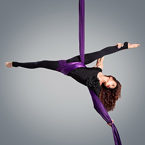 Kurma Yoga Aerial Silks Equipment For Acrobatic Flying