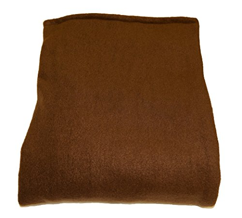 Melissa's Weighted Blankets Made in The USA (5lbs Child Size) Brown 10 Varieties of Fleece and Flannel Combinations 27 Different Size and Weight Options Small 48