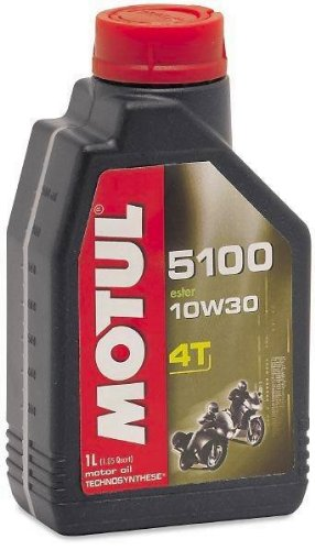 Motul 5100 4T Synthetic Ester Blend Motor Oil - 10W30 - 1L. 836615 ()