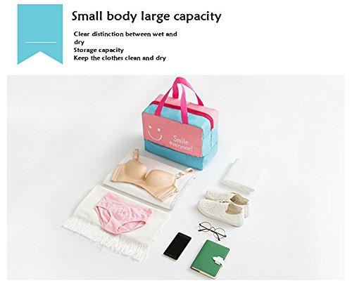 Schwimmtasche Große Kapazität Trocken Nass Trennung Aufbewahrungstasche Premium Wasserdichte Tasche A1JqTu