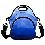 Neoprene Blue Diamond Lunch Bag/Lunch Box/Lunch Tote/Container Case Thermal Waterproof Picnic Bags Insulated