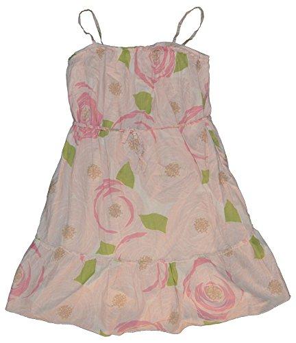 GAP Kids Girls Pink Floral Woven Ruffle Tulle Sun Dress XL 12