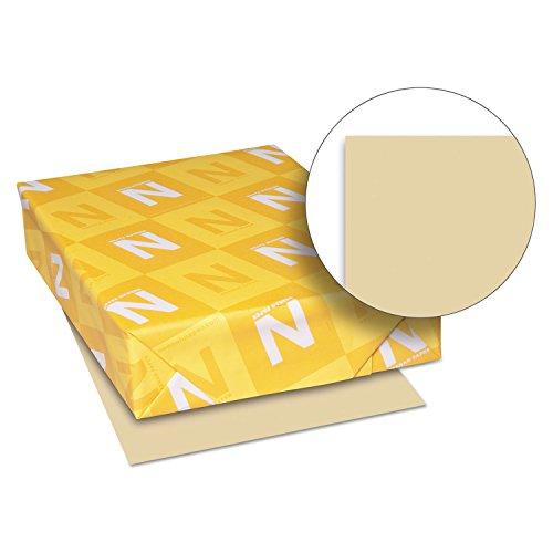 Neenah Paper 82381 Exact Vellum Bristol Cover Stock, 67lb, 8 1/2 x 11, Tan, 250 Sheets
