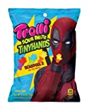 Trolli Deadpool 2 Sour Brite Tiny Hands. Pineapple/Mango, Blueberry/Lime, and Strawberry/Berry Punch.