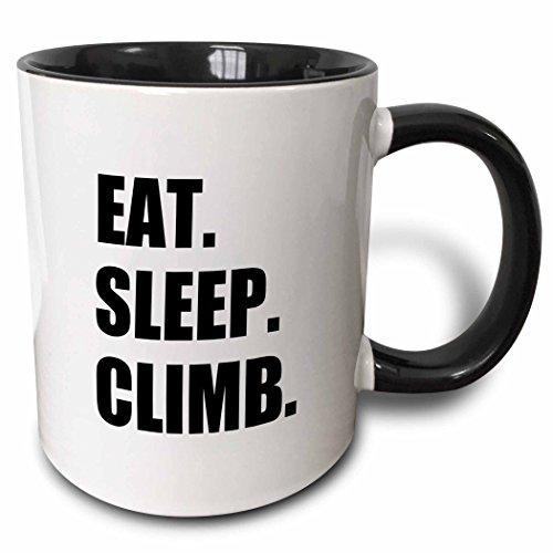 3dRose Eat Sleep Climb mug 180390 4