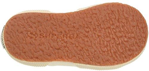 Superga 2750-Cotpatchj, Zapatillas Unisex Niños Multicolore (Ecru Bowhearts)
