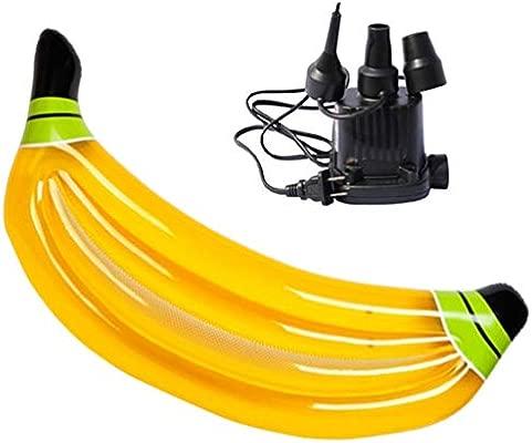 Colchonetas y juguetes hinchables Cama Inflable Banana ...