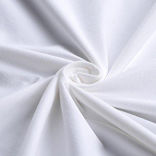 amp; Männer T Shirts White T Cool Bluse Top T Longra Weiß Bluse Sommer T Regular Kurzarm Shirt Shirt Basic T Rundhalsshirts Shirt Herren 02 Shirts Print Shirt Streetwear Shirt Fit dHXXqTwfx
