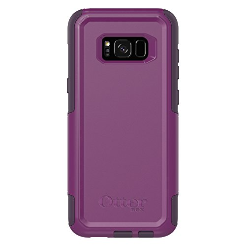 (OtterBox Commuter Series for Samsung Galaxy S8+ - Frustration Free Packaging - Plum Way (Plum Haze/Night Purple))