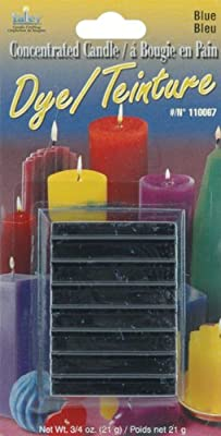 Yaley Concentrated Candle Dye Blocks, 0.75-Ounce, Blue from Yaley