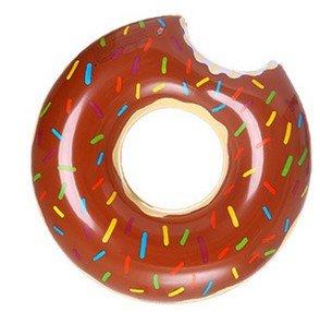 ZHANGJIANJUN Donut Gigante Inflable Piscina de Adultos Piscina hilera Flotante Anillo Toy con Bomba de Agua de Piscina Juego Flotar Juguetes para Adultos ...