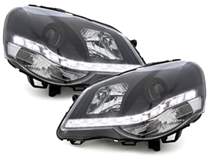 KITT SWV23GXB Fari Fanali Anteriori DRL LED Headlights Nero ...