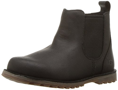 UGG Unisex T Callum Chelsea Boot, Black, 11 M US Little Kid ()