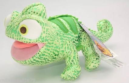 "Disney Rapunzel enredados 8 ""camaleón Pascal peluche muñeca juguete verde"