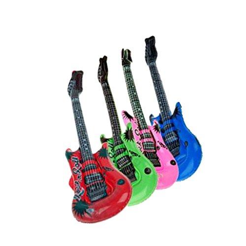 1f08920b203f7 FLAMEER 楽器おもちゃ ギターバルーン 風船 パーティー 誕生日プレゼント おもちゃ 色はランダム