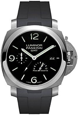 [ラバービー] RUBBERB PANERAI専用ラバーベルト【パネライ】ルミノール 1950 44mm(TYPE2)用ラバーバンド【ブラック】※時計は付属しません(Watch is not included) [並行輸入品]