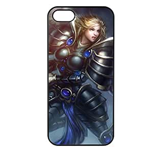 Kayle-002 League of Legends LoL case cover for Apple iPhone 5/5S - Plastic Black