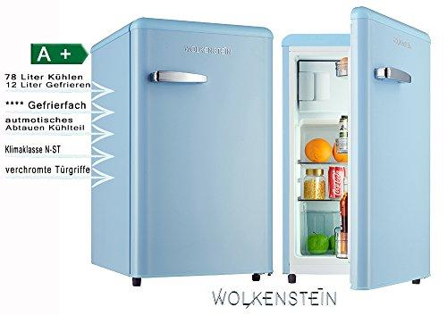 Retro Kühlschrank Pink : Retro kühlschrank mit gefrierfach hellblau ks 95rt lb a 90 liter