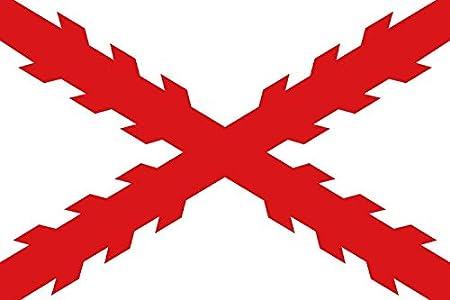 Durabol Bandera DE Borgoña Imperio Español 150 x 90 cm Satén Flag ...